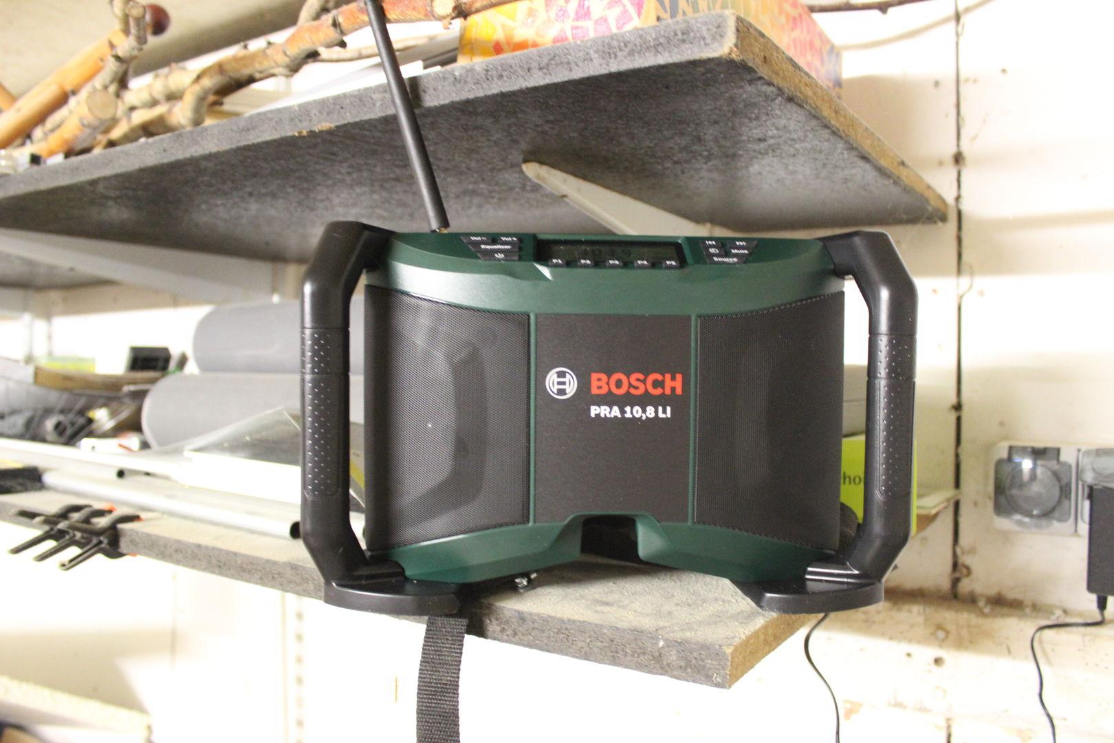 bosch Baustellenradio